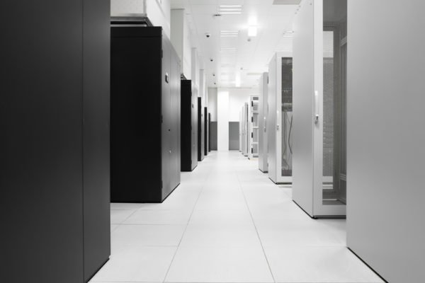 data center after professional data center cleaning