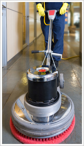 day porter professional floor cleaning