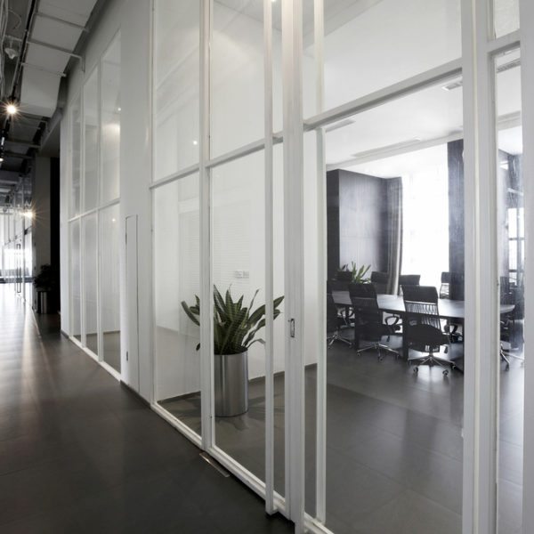 office space after professional janitorial cleaning