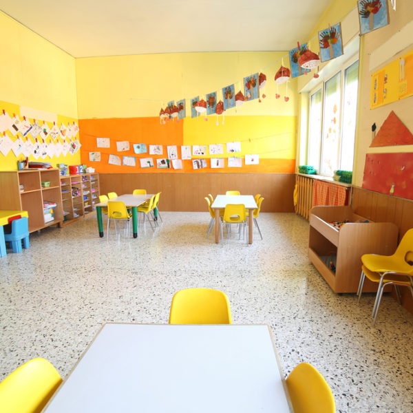 clean daycare center